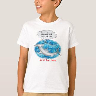 Camiseta Tubarão de Hammerhead de fala