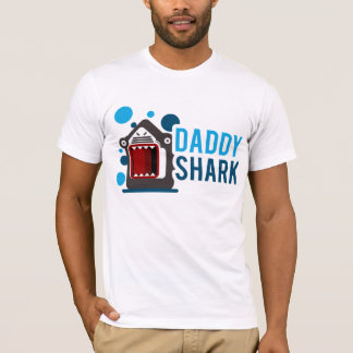 Camiseta Tubarão do pai