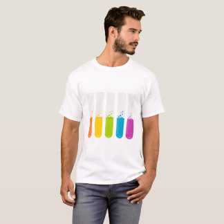 Camiseta Tubos de ensaio