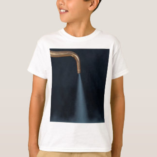 Camiseta Tubulação de cobre com vapor