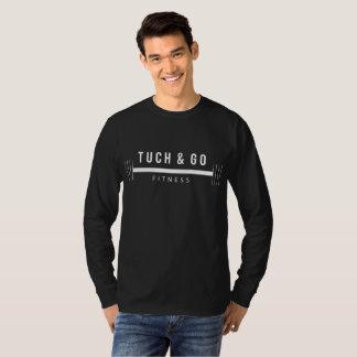 Camiseta Tuch & vai T longo da luva da malhação