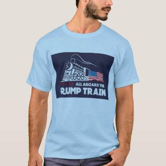 Camiseta Tudo a bordo do trem do trunfo
