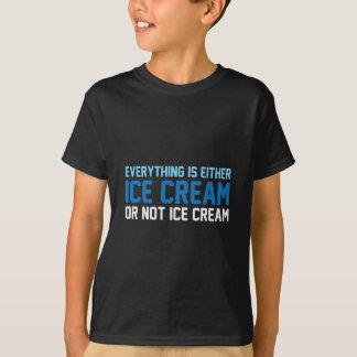 Camiseta Tudo é sorvete