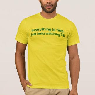 Camiseta Tudo é t-shirt fino