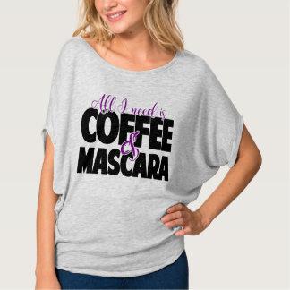 Camiseta Tudo que eu preciso é café & rímel