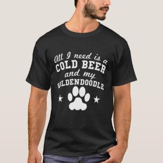 Camiseta Tudo que eu preciso é uma cerveja fria e meu