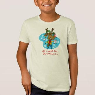 Camiseta Tudo que eu quero para o Natal é…