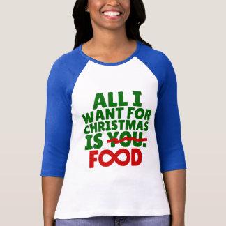 Camiseta Tudo que eu quero para o Natal é t-shirt da