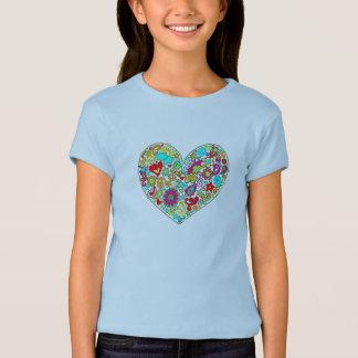 Camiseta TUDO que você precisa é amor.