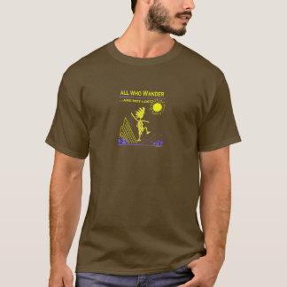 Camiseta Tudo que Wander não é perdido