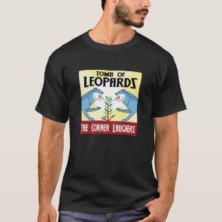 Camiseta Túmulo da arte do álbum dos leopardos