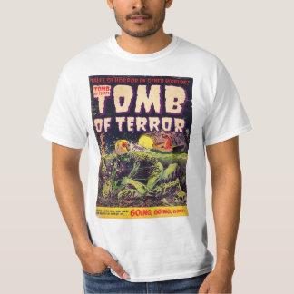 Camiseta Túmulo da banda desenhada ida indo indo do horror