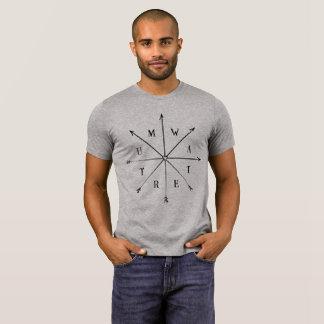 Camiseta Tumwater, tshirt das setas de WA