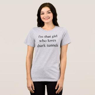 Camiseta túneis do tubarão