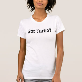 Camiseta Turbo obtido?
