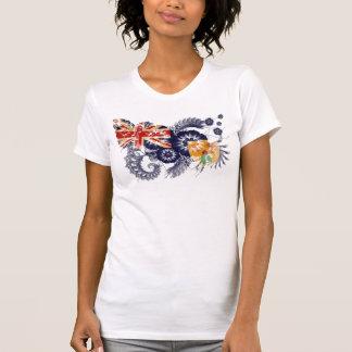 Camiseta Turcos e bandeira de Caicos