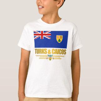 Camiseta Turcos & roupa do orgulho de Caicos