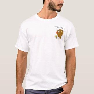 Camiseta TurkeyTrot demasiado