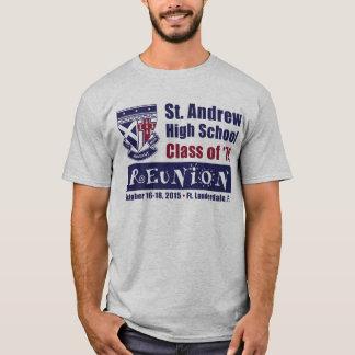 Camiseta Turma da escola secundária de St Andrew da reunião