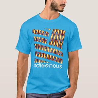 Camiseta Turquesa nativa do diamante