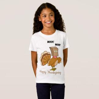 Camiseta Turquia Disquised como o cão