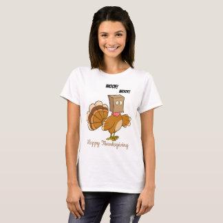 Camiseta Turquia que esconde como o cão