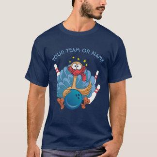 Camiseta Turquia selvagem de rolamento com bola e pinos