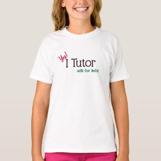 Camiseta Tutor sim, eu Tutor