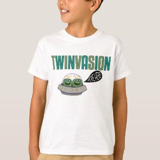 "Camiseta TWINVASION ""nós estamos aqui """