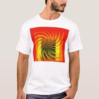 Camiseta Twirl alaranjado