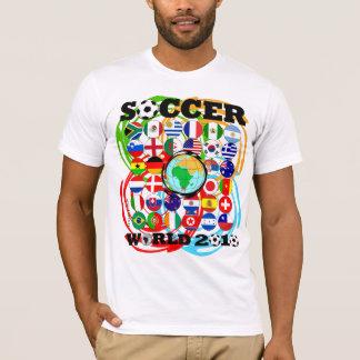 Camiseta Twirl da cor do t-shirt do branco dos campeonatos