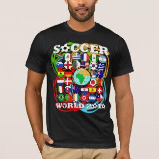 Camiseta Twirl preto da cor do t-shirt dos campeonatos do