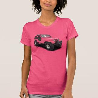 Camiseta U-Picareta o veículo com rodas da cor quatro em