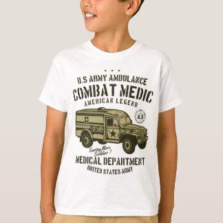 Camiseta U.S. Ambulância do exército