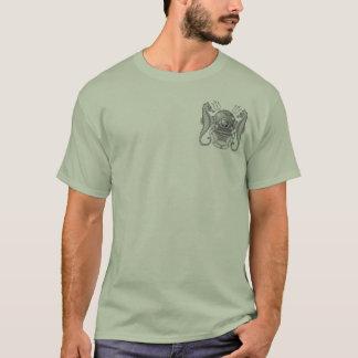 Camiseta U.S. Mergulhador mestre do marinho