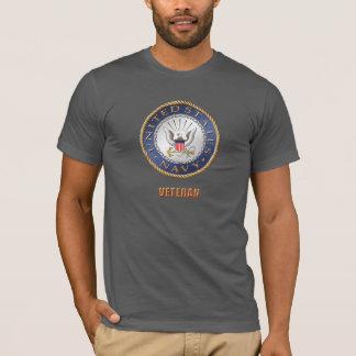 Camiseta U.S. T-shirt do veterano do marinho