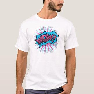 Camiseta UAU! Design de texto