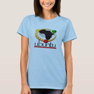 Camiseta Ubuntu T da mulher