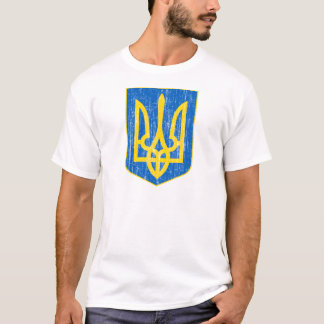 Camiseta Ucrânia pouca brasão