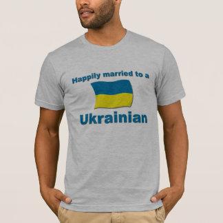 Camiseta Ucraniano feliz casado