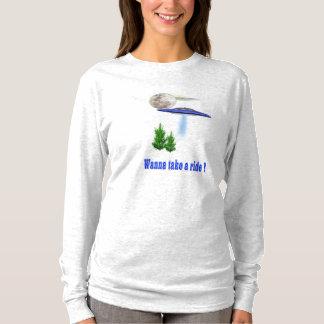 Camiseta UFO engraçado