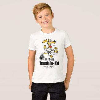 Camiseta Ugmo o t-shirt do cão do karaté (miúdo)