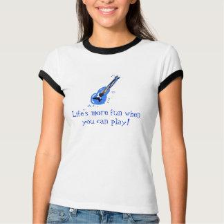 Camiseta uke azul