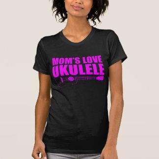 Camiseta ukulele do dia das mães