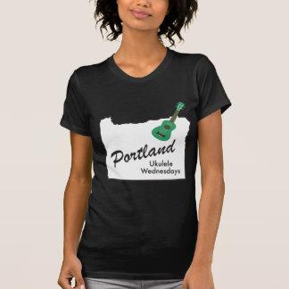 Camiseta Ukulele quartas-feiras de Portland