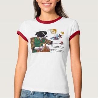 Camiseta Último dia do t-shirt do jardim de infância