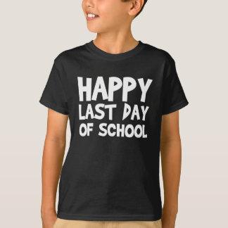 Camiseta Último dia feliz da escola