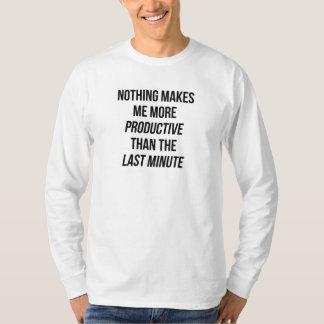 Camiseta Último minuto