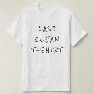 Camiseta Último t-shirt limpo
