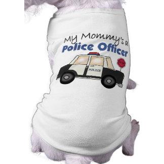 Camiseta Um agente da polícia da mamã